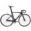 2017 New model! 100% full carbon fiber track bicycle, lightweight carbon track bike