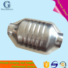 Universal High Performance Auto Engine Exhaust Catalytic Converter With Cheap Price