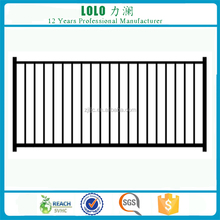 Cheap Prefab Powder Coated Decorative Aluminum Fence Panels