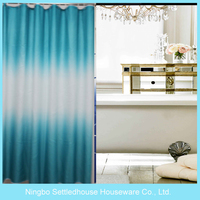 Quality Single Swag Color Changing Candel Pattern Shower Curtain