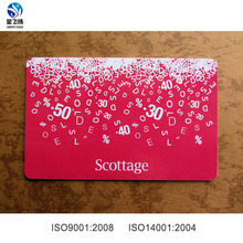 CR80 Plastic Card with Lamination