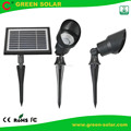 Set of 2 Lamps Spotlight Solar for Outdoor Illumination