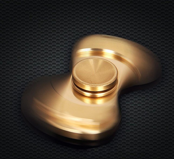 2017 Best Selling New Product Brass Ceramic Bearing Fingertip Gyro hand spinner toys Relieve Stress Creative