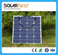 High efficiency low price flexible solar panel 50W Energy Products Manufacturer in China