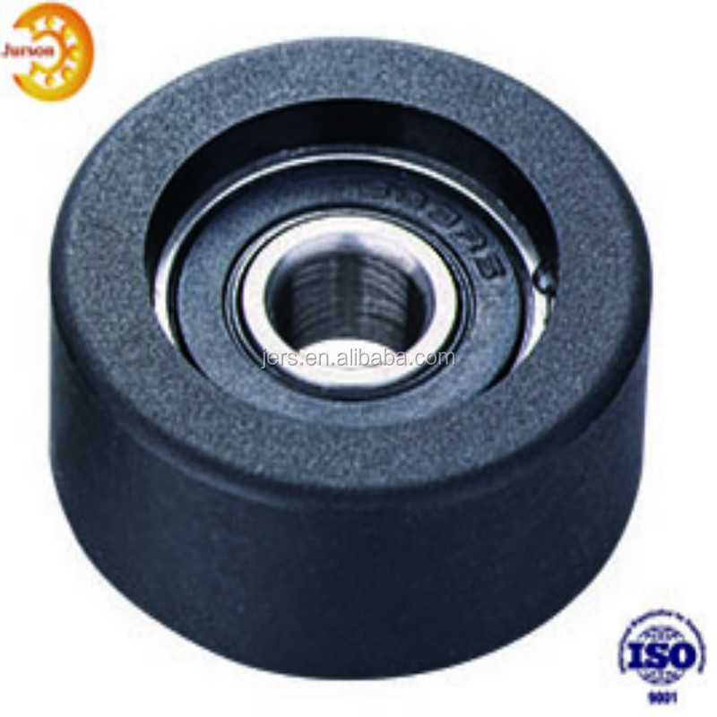 China High Quality 8x22x7mm polyurethane roller rubber pulley wheels 608RS