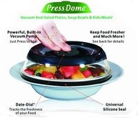 Silicone Food Storage Lids and Bowl Covers/Houshold promotional gift PressDome factory wholesale