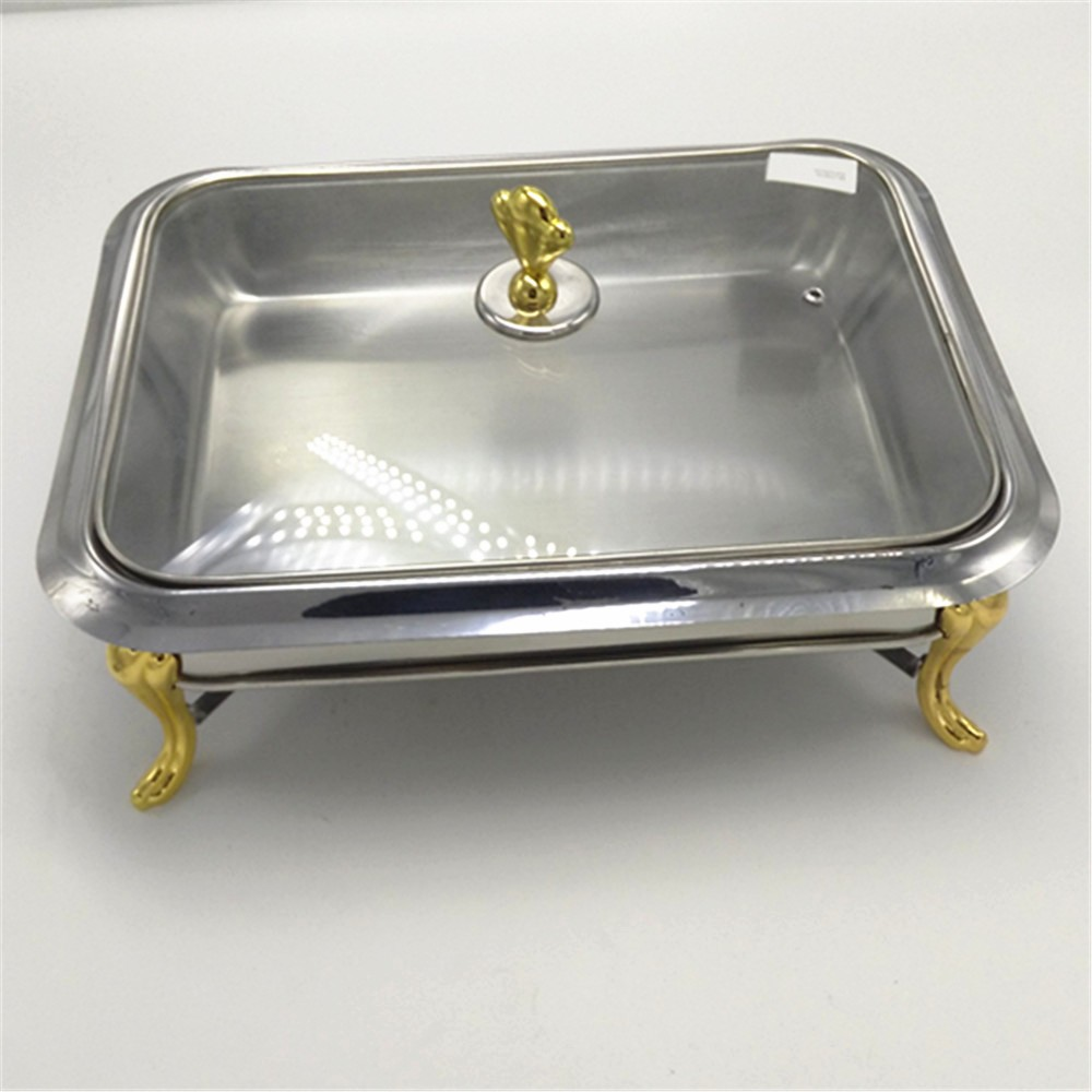 Stainless steel mirror surface hot food warmer buffet server/chafing dish/chafer/buffet server