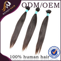 Hot product 2014 year 100g for one pack 16 inches straight indian hair company