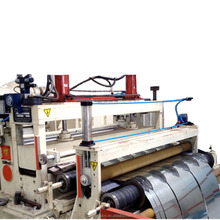 Computer Controlled Horizontal Type Slitting Machine for aluminium foil