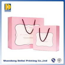 Carrier Packaging Customized Cute Recycle Printed Paper Bag