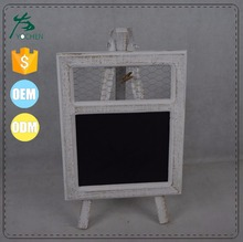 Wooden Wedding Blackboard Chalkboard Stand Message Board with card holder