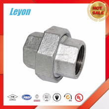 Galvanized Malleable Iron Pipe Fittings Forged A105 Union