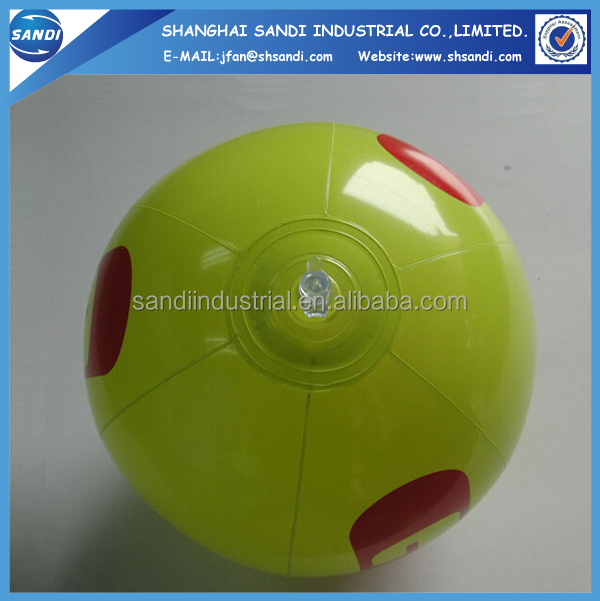 Promotional Customized Logo Printed PVC Beach Ball
