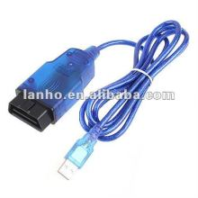 OBDII OBD2 VAG K + CAN 1.4 Car USB Diagnostic Scanner
