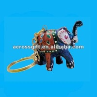 polyresin elephant key chain