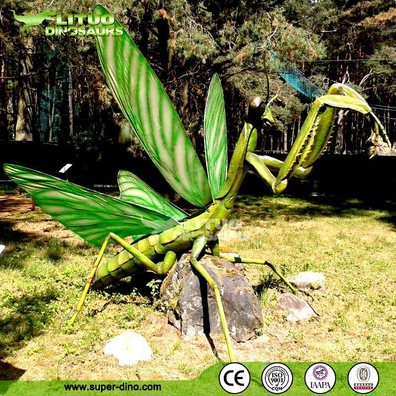 Reality Apperance Model Silicone Rubber Insect Giant Mantis