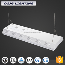 High Power Warehouse Work Shop Hanging Batten Lighting High Bay Fixture Parts Led Linear Light