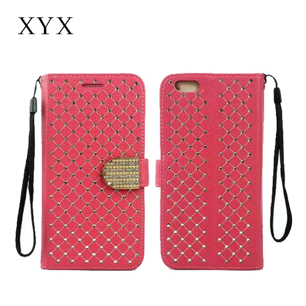 For BB Z5 wallet case, crystal flip smart phone stand wallet cover for BB Z5