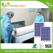 High transmittance Clear Adhesive EVA Flexible Transparent Solar Film