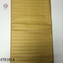 AT61014-4 african fabric 100% cotton GOLD color atiku brocade for men garment