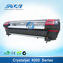3.2m flex banner printing crystaljet 4000 series printer