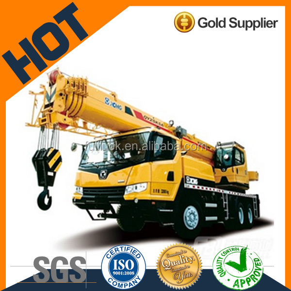 XCMG Brand diesel mobile crane with low fuel consumption