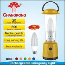 high power rechargeable emergency 5W bulb lantern camping