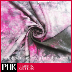 PHK KNITTING SR07-3-Z 95%RAYON 5%SPENDEX TIE-DYE SINGLE JERSEY FABRIC