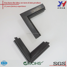 Custom made rubber corner flat angle joint