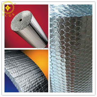 Water Proof Plastic Wrap Roll / Heat Resistant Insulation Foil
