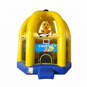 Dome Commercial Bouncer Jumper Inflatable Duck Castle Inflatable Small House Castle Bouncer For Kids