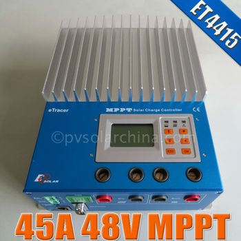 45Amp battery charge controller eTracer ET4415 45A MPPT Solar Charge Regulator
