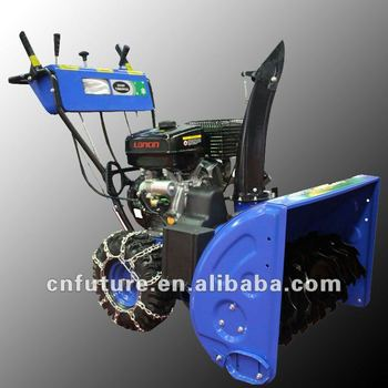 Gaso Snow Blower with Snow chains