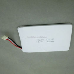 High discharge rate 25C rechargeable li-polymer battery lithium battery 3.7v 4250mah rc batteries for airplanes