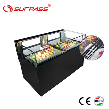 Commercial cake display cooler chocolate refrigerator showcase
