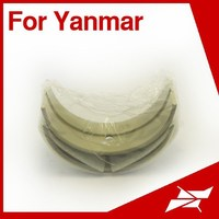 Taiwan made engine main bearing for Yanmar KD marine diesel engine parts