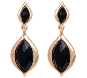 Fashion Jewelry Wedding Gift Newest Indian Gold Plated Drop Earring for women