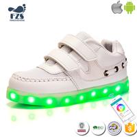 MLS02038 new design led light up running sneakers shoes for kids