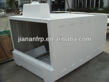 Customized gel coat or painting finish FRP cover Fiber glass products