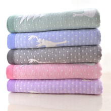 Wholesale Good Quality Non Terry Organic Bath Towel