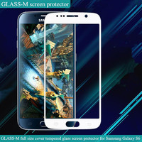 Full coverage silicone screen protector for Samsung Galaxy S6