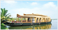Good Kerala Luxury Family Houseboat Package