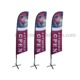 Teardrop or Feather Outdoor Flying Wind Resistant Promotion Printing Favoshow Advertising Banner Beach Flag
