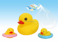 Hot Selling kids toy squeeze duck-rubber duck baby toys