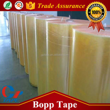 High Quality Acrylic Opp Gum Tape Jumbo Roll With Strong Adhesion