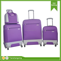 Colorful best seller ABS travelling trolley luggage bag