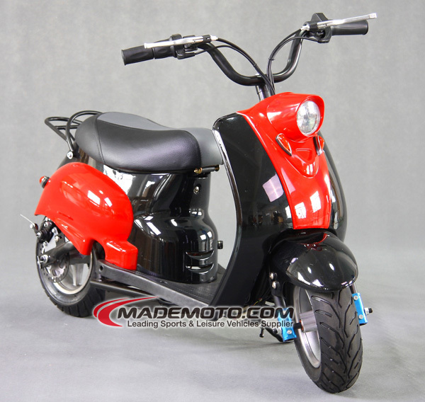 electric scooter with seat for kids 200W