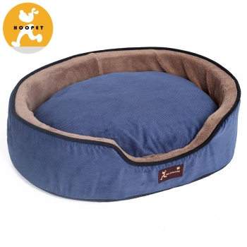 Deluxe Pet Round Bed for Cats and Small Dogs