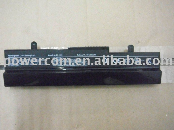 replacement 10.8V 5200mah laptop battery for ASUS Eee PC 1005 10 Inch Series ASUS Eee PC 1005 ASUS Eee PC 1005H