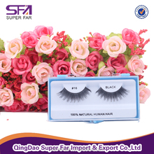 Alibaba best sellers human hair lashes